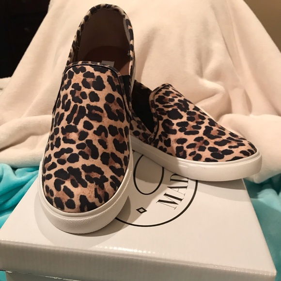 d52c3ad8e025 Steve Madden Shoes | Safari Leopard Slip Ons | Poshmark
